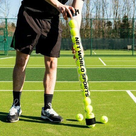 Sammelrohr für Tennisbälle