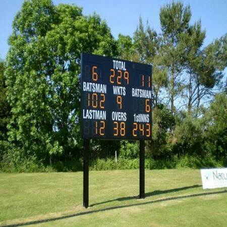 Test Electronic Cricket Scoreboard