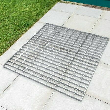 Galvanised Steel Foot Grate