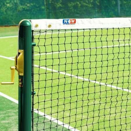Vermont 2.5mm Tennis Net [10m Singles - 4.7kg]