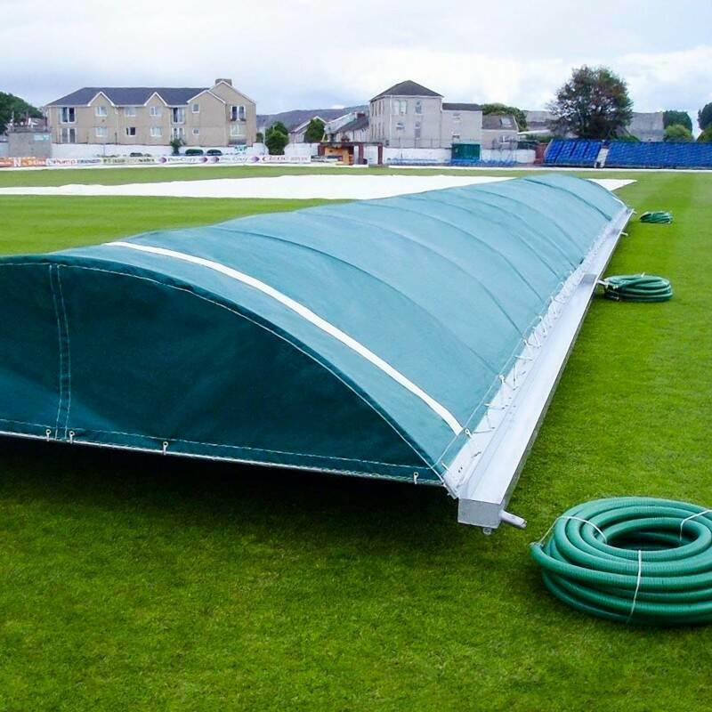 Test Standard Mobile Cricket Pitch Covers