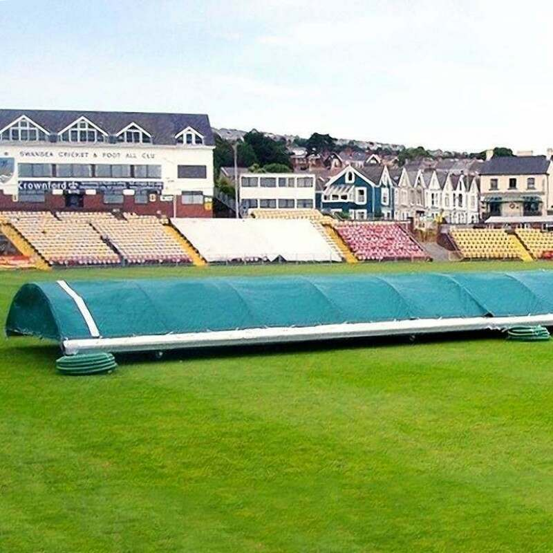 Dome-Style PVC Cricket Pitch Covers