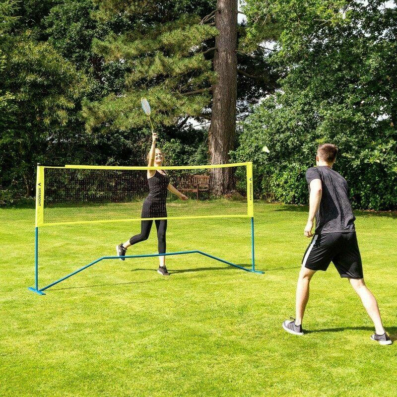 Vermont ProCourt Mini Tennis & Badminton Combi Net | Backyard Sports For Families | Net World Sports