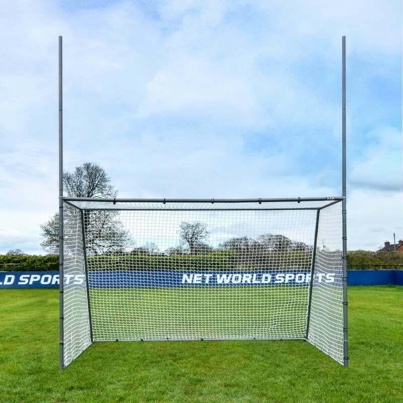 Weatherproof Steel GAA Gaelic Football & Hurling Goal Posts | Net World Sports