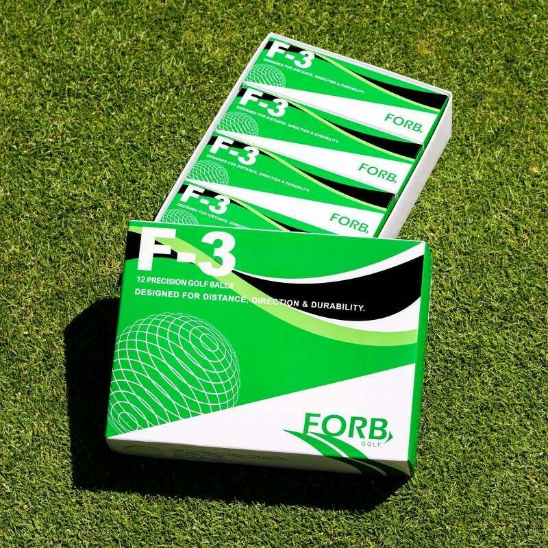 Pack of 12 FORB F-3 Practice Golf Balls | Net World Sports