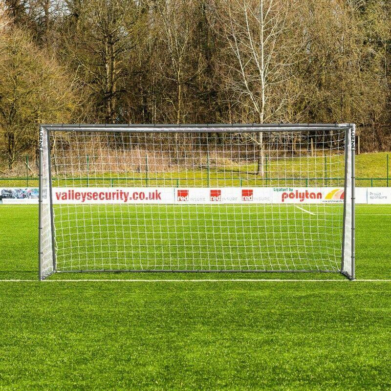 12ft x 6ft Steel Football Goals