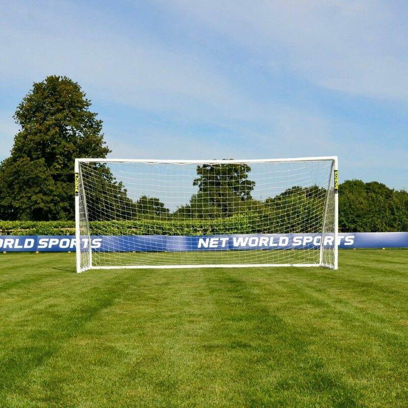 16 x 7 FORZA Match Football Goal Post | Net World Sports