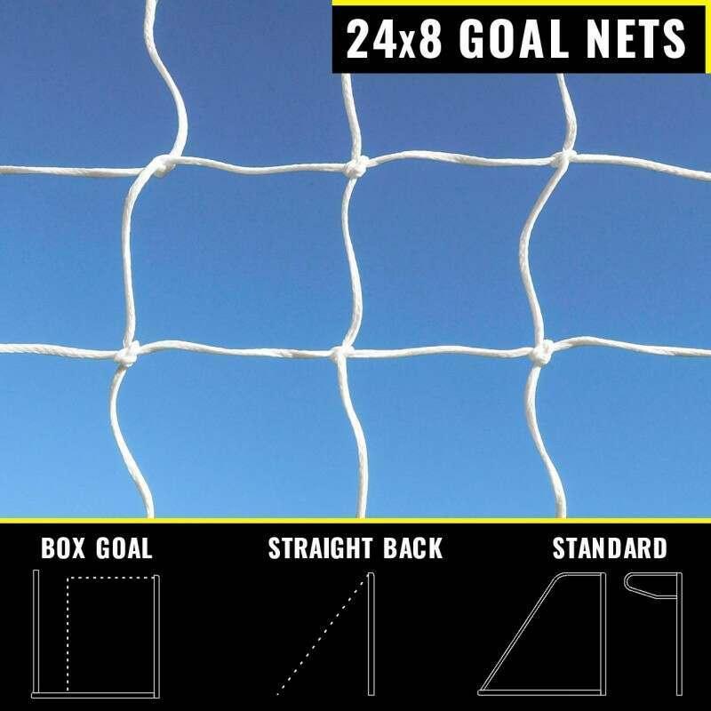 24 x 8 Replacement Goal Nets | Net World Sports
