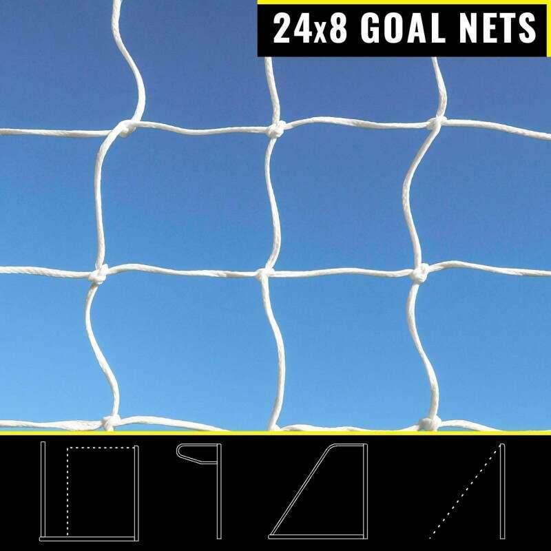 FORZA 24 x 8 Replacement Goal Nets   Net World Sports