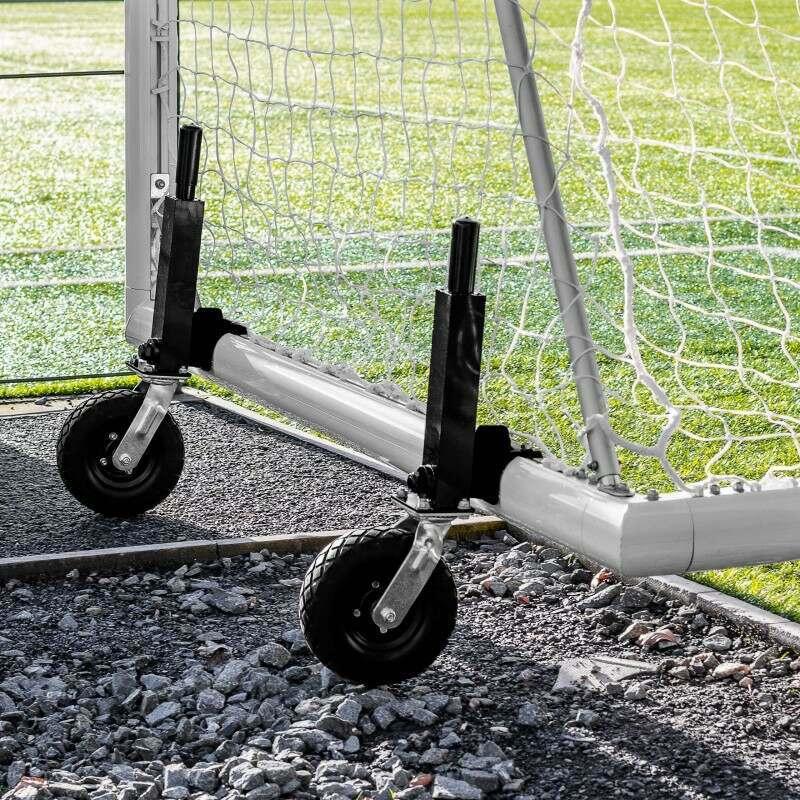 Rotational Football Goal Wheels