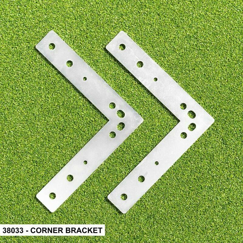 Corner Bracket For FORZA Alu110 Socketed Goals