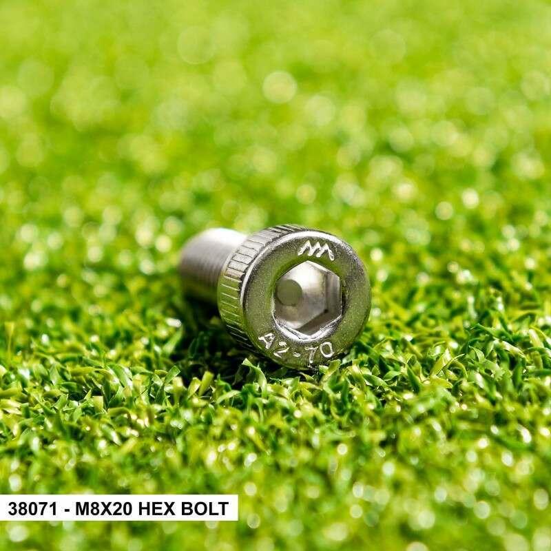 M8x20 Hex Bolt
