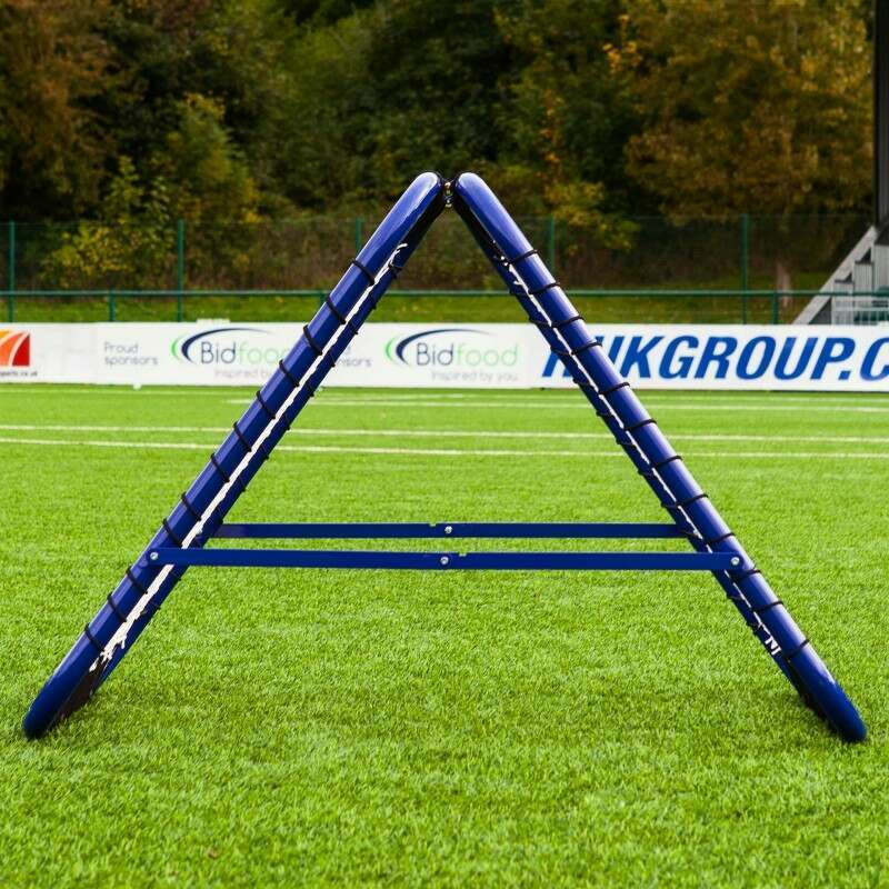 Double Sided Spring Loaded Rugby Rebounder