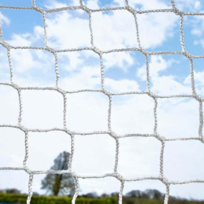 3mm Braided HDPE GAA Goal Net   Net World Sports