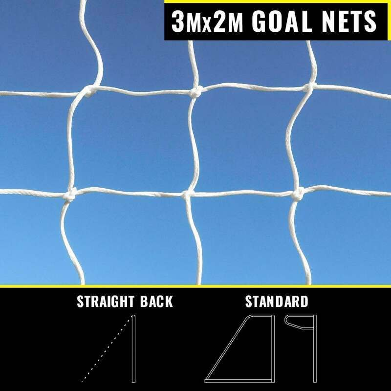 3m x 2m Replacement Goal Nets
