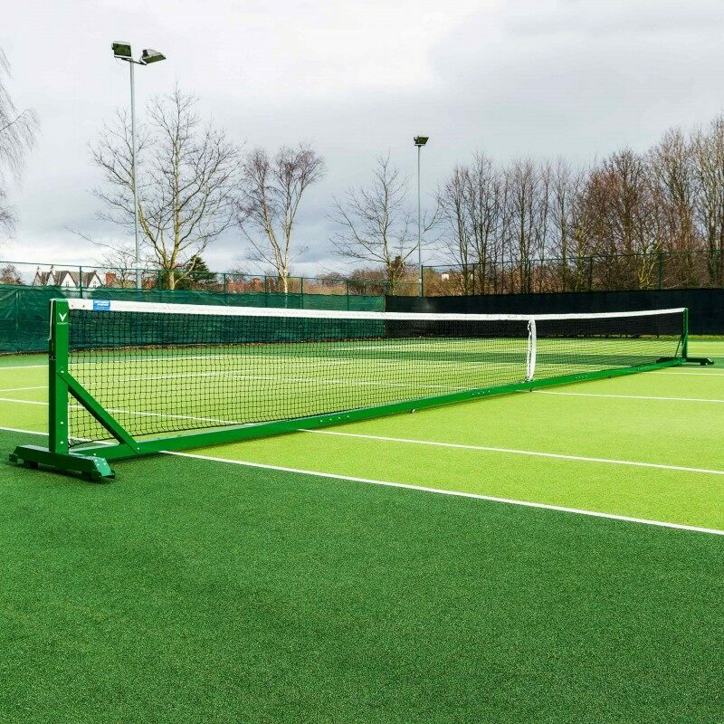 42ft Doubles Regulation Freestanding Tennis Posts | Vermont Sports