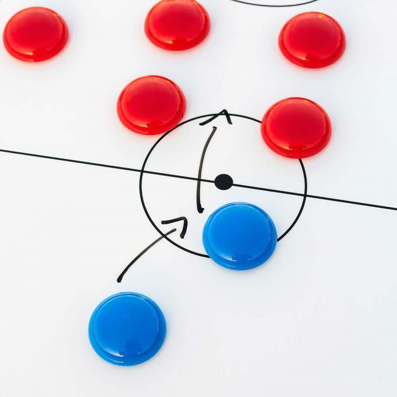Replacement Magnetic Coaching Board Markers