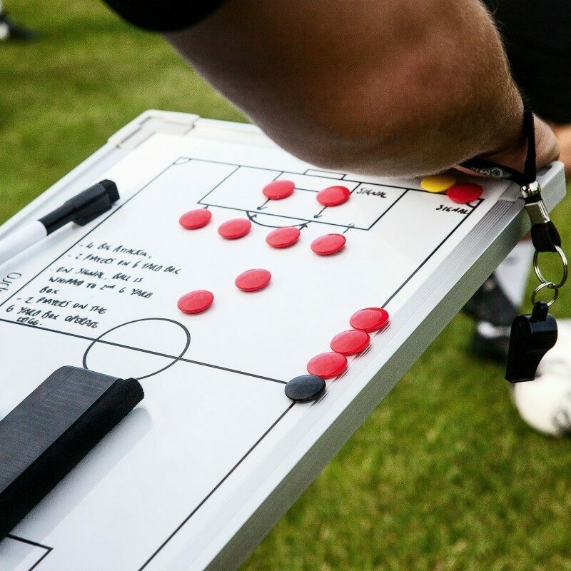 Single Sided Soccer Coaching Board