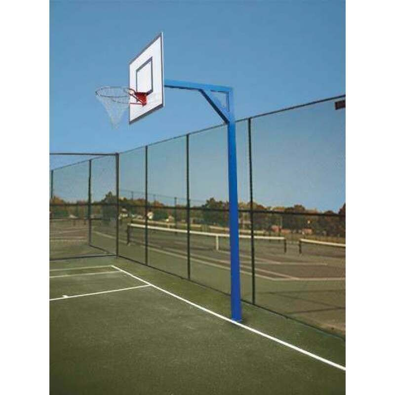 Socketed Heavy Duty Basketball Unit (Schools) | Basketball Hoop | Basketball Net | Basketball Backboard | Net World Sports