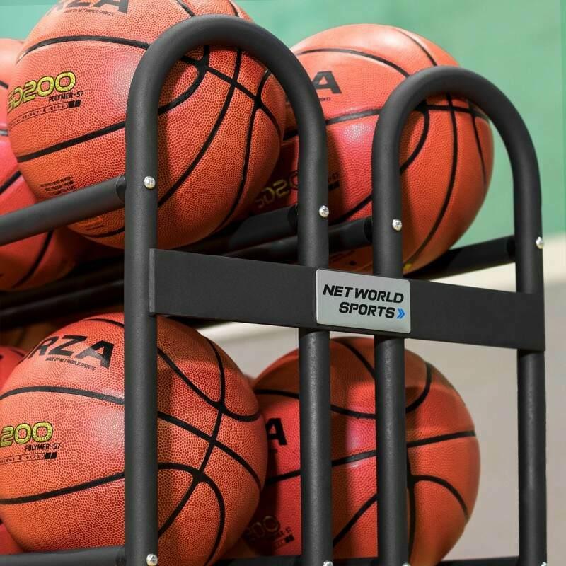 Basketball Ball Trolley   Net World Sports
