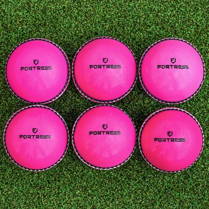 Plastic Pink Cricket Balls With Premium Foam Core | Net World Sports