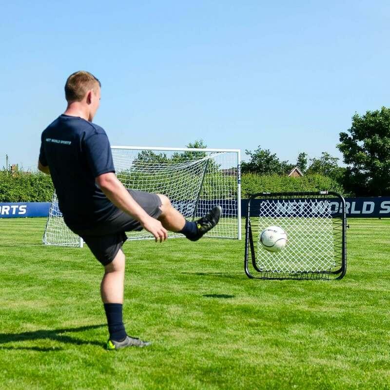 Hard-Wearing Football Rebound Net | Net World Sports
