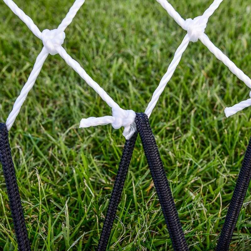 Spring Loaded Rebounding Net For Rugby Training