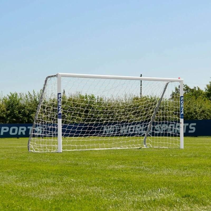 8 x 4 FORZA Alu60 Football Goals | Football Goals