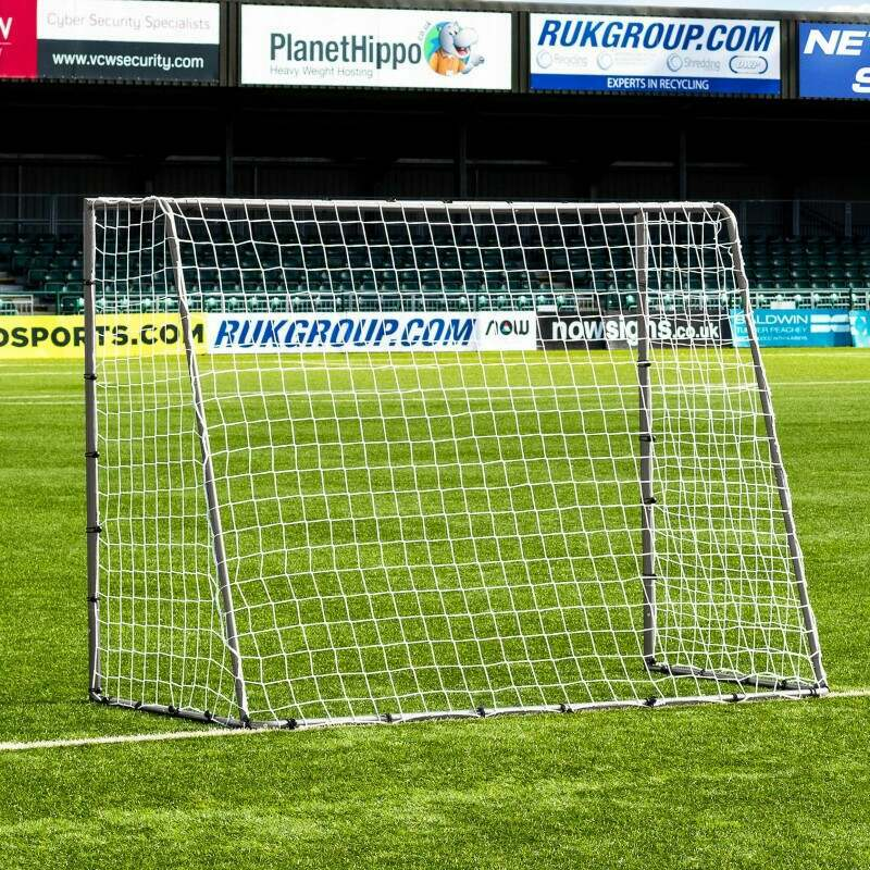 8 x 6 FORZA Steel42 Football Goal | Back Garden Football Goal
