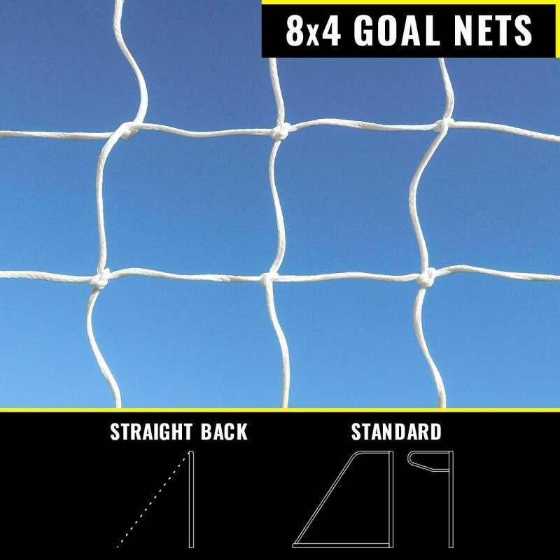 FORZA 8 x 4 Replacement Goal Nets | Net World Sports