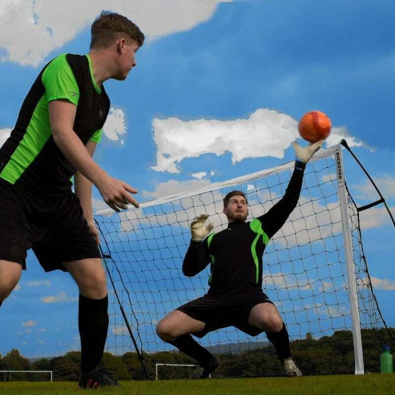8 x 5 Kickster Football Goal - Academy (Football Goal Set)