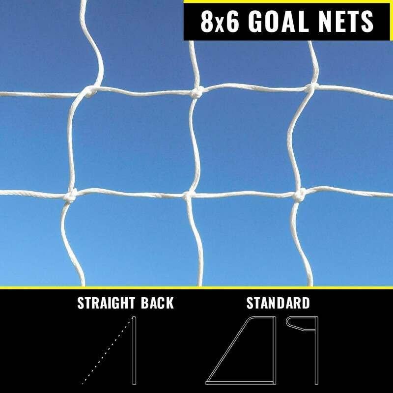 8 x 6 Replacement Goal Nets | Net World Sports