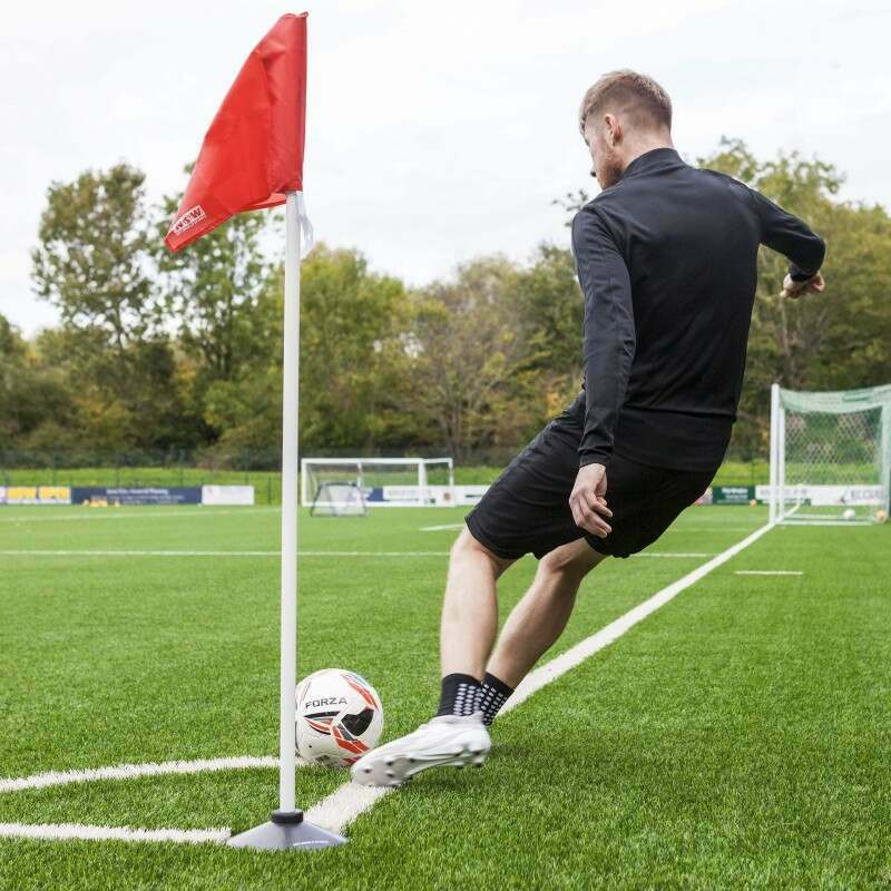 Corner Pole And Corner Flag With Base For Football