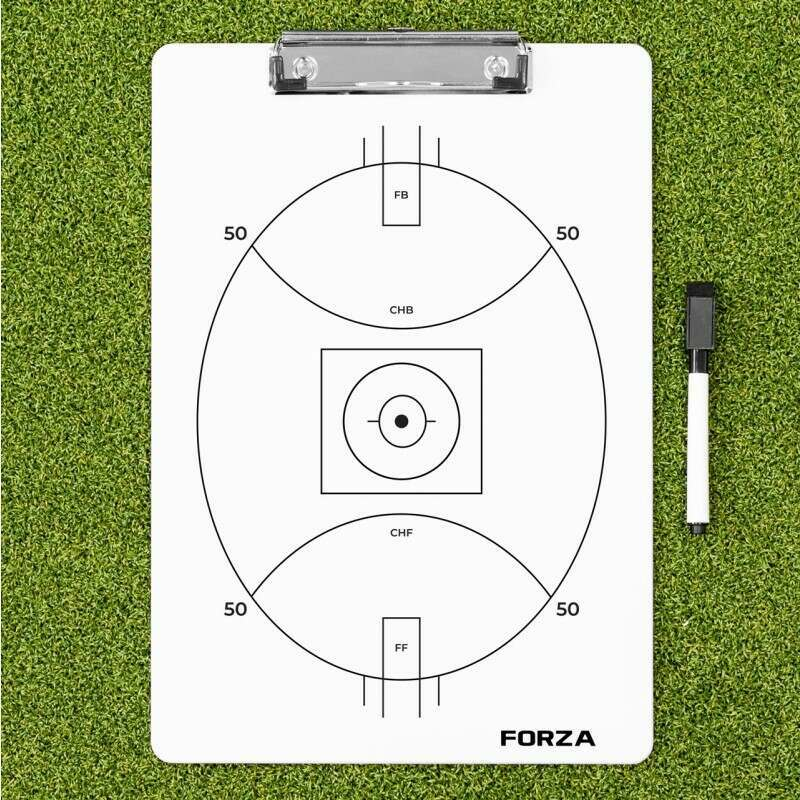 FORZA Aussie Rules Football Coaching Clipboard