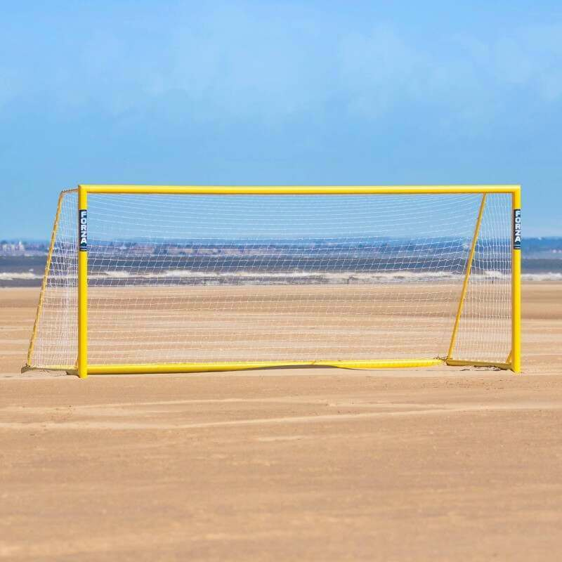 18.5 x 7.3 FORZA Freestanding Alu110 Beach Soccer Goal | Net World Sports