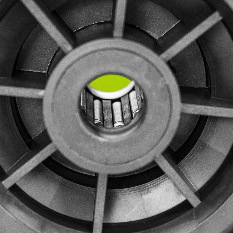 Greased Bearings For UV Stabilised Warehouse Wheel