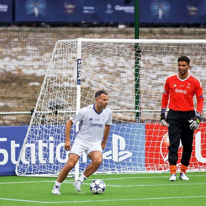 18.5 x 6.5 Alu60 Football Goal