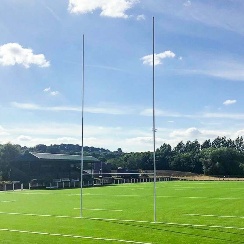 FORZA Alu80 Hinged Rugby Posts   Net World Sports