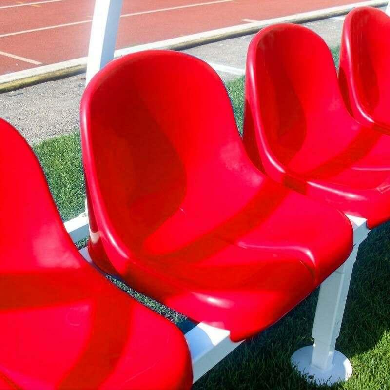 Aluminium Team Dugout For Football Teams