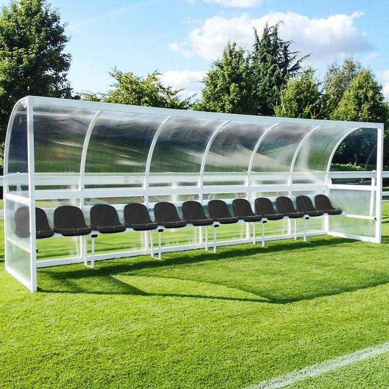 Aluminium Team Dugout For Sports Teams