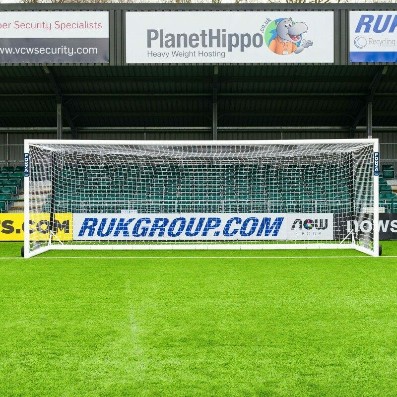 Portable 24 x 8 Box Football Goal