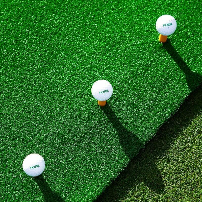 Academy Golf Practice Mat   Golf Hitting Mat   Winter Golf Mat   Golf Matting With Rubber Tees   Net World Sports