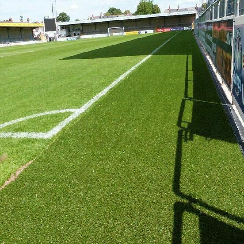 Artificial Grass Football Pitch Surrounds