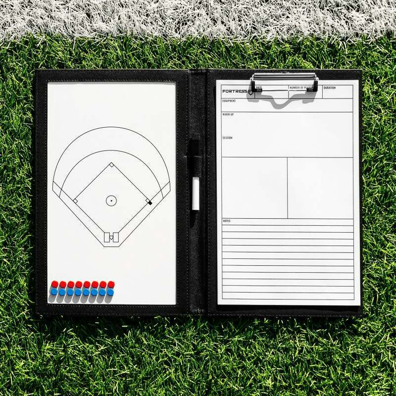 Handheld Baseball Coaching Folder