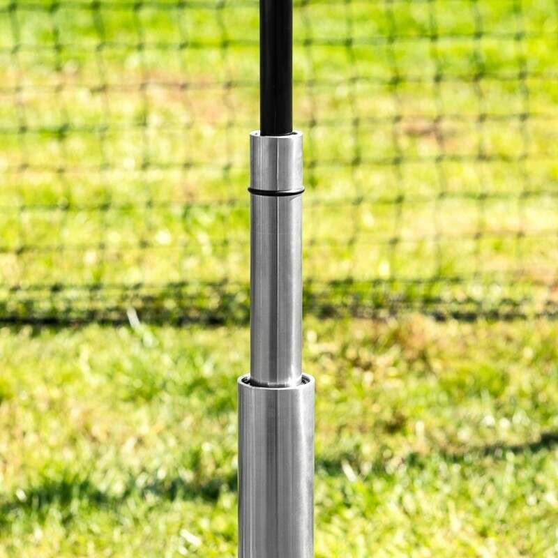 Baseball Batting Tee with Adjustable Heights   Net World Sports