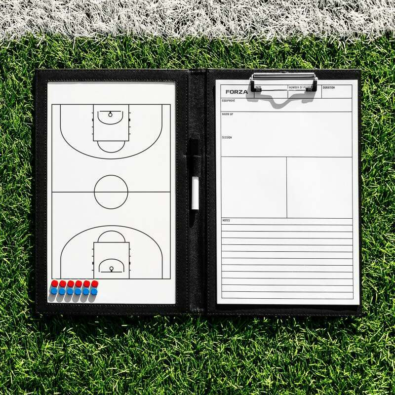 Handheld Basketball Coaching Folder