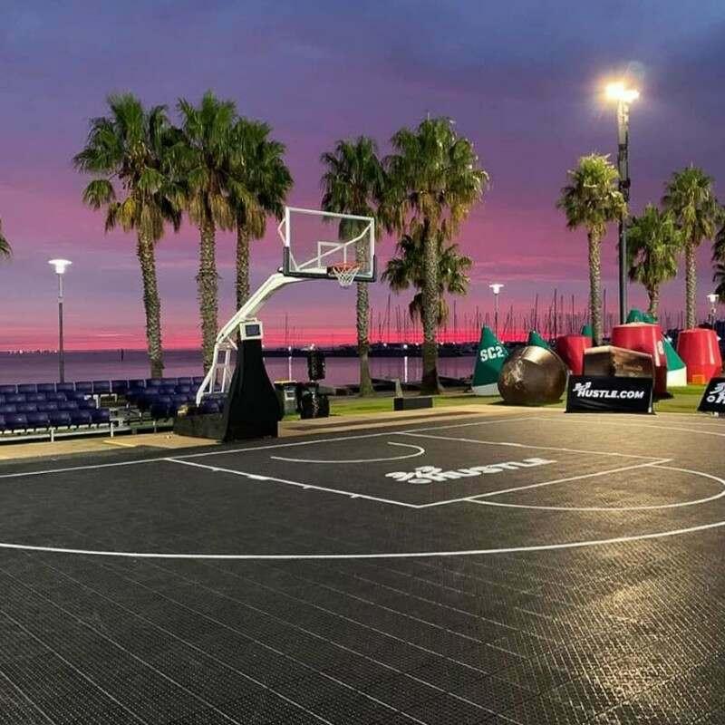 Indoor Or Outdoor Basketball Court Tiles