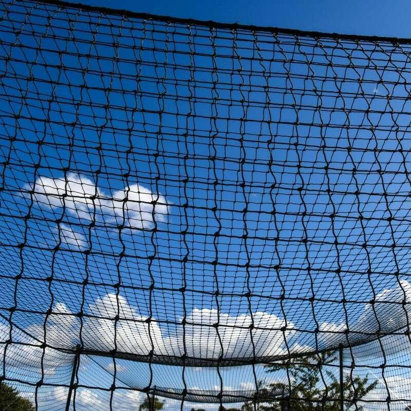 Two-Piece Baseball Batting Net