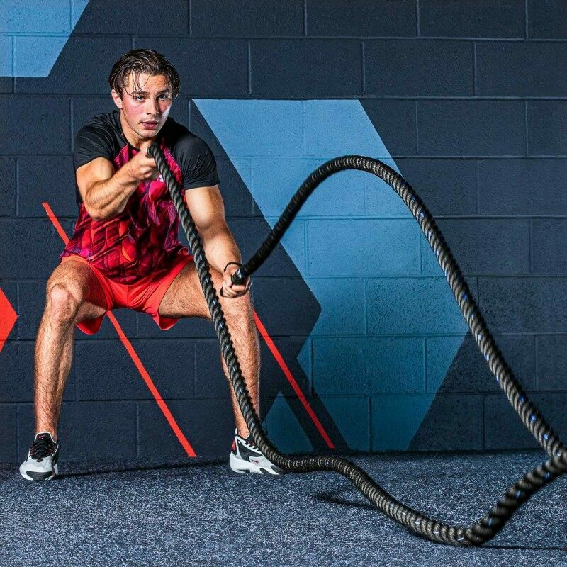 Premium Training Battle Ropes | Metis Gym Ropes | Net World Sports