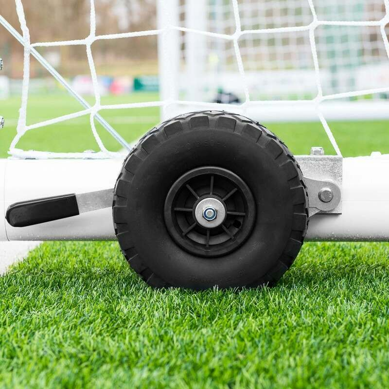 21 x 7 Portable Stadium Box Soccer Goal
